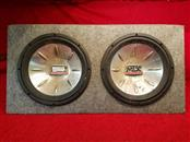 """MTX 12"""" Subwoofers in Box"""